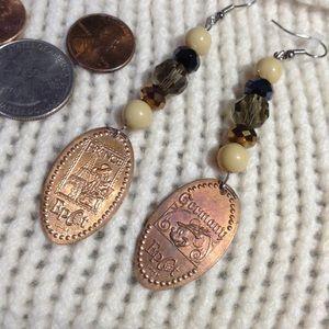 Disney Jewelry - D I S N E Y Epcot Norway France Penny Earrings